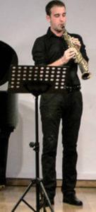 Alfonso Martinez Saxophonlehrer